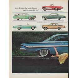 "1961 Chevrolet Ad ""jet-smooth ride"""