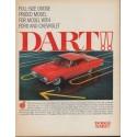 """1961 Dodge Ad """"Dart!!"""""""