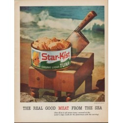 "1961 Star-Kist Ad ""The Real Good Meat From The Sea"""