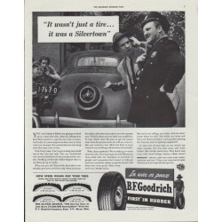 "1942 B. F. Goodrich Ad ""It wasn't just a tire"""