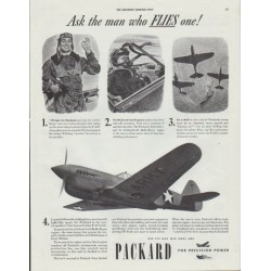 "1942 Packard Ad ""Ask the man"""