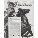 "1942 Conoco Ad ""Black Beauty"""