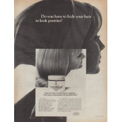 "1967 Clairol Ad ""Do you have to hide your hair ...?"""