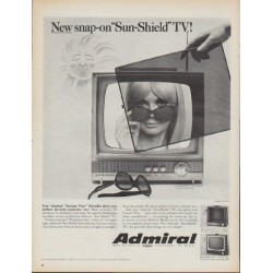 "1967 Admiral Television Ad ""New snap-on"""
