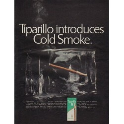 "1967 Tiparillo Ad ""Tiparillo introduces Cold Smoke"""