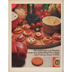 "1967 Ritz Ad ""you'll always know it's RITZ"""