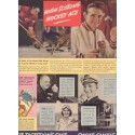 """1937 Camel Cigarettes Ad """"Hockey Ace"""" w/ Red Wings' Herb Lewis"""