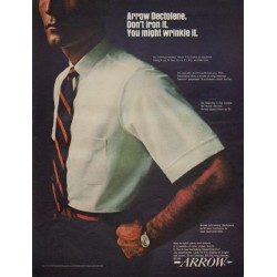 "1967 Arrow Shirt Ad ""Arrow Dectolene"""
