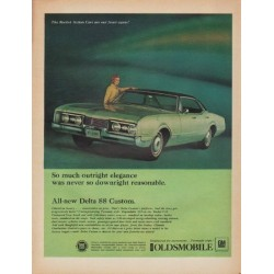 "1967 Oldsmobile Ad ""So much outright elegance"""