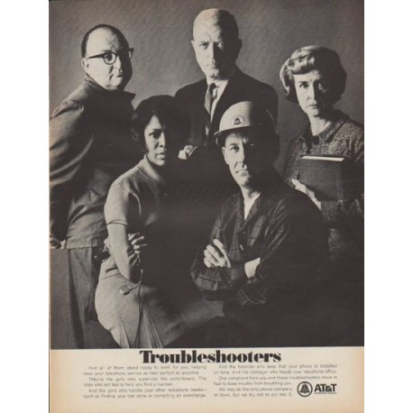 """1967 AT&T Ad """"Troubleshooters"""""""