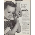 "1962 Metropolitan Life Ad ""She needs you"""