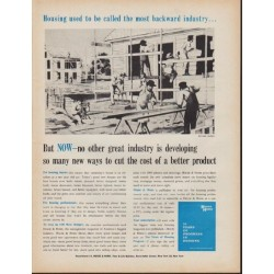 "1962 House & Home Ad ""the most backward industry"""