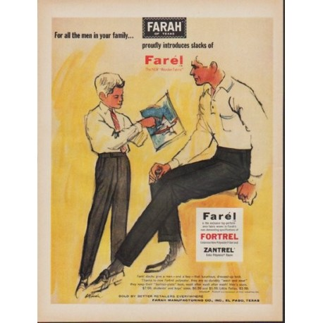 "1962 Farah Ad ""For all the men in your family"""