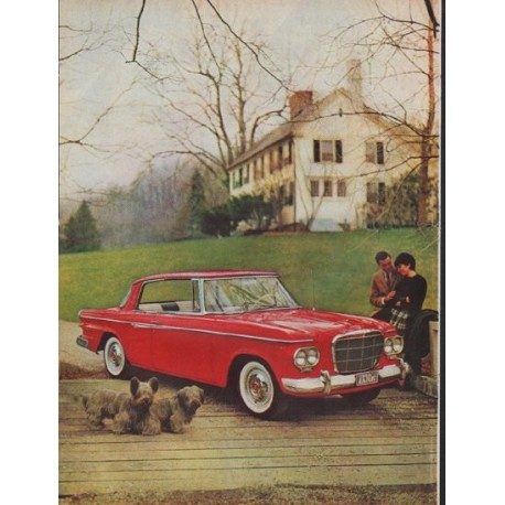 "1962 Studebaker Ad ""Yes, it's Beautiful"""