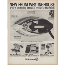 "1962 Westinghouse Ad ""New From Westinghouse"""