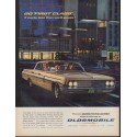 "1962 Oldsmobile Ad ""Go ""First Class"""""