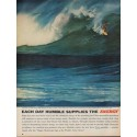 "1962 Humble Oil & Refining Company Ad ""Ocean Surf!"""