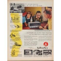 "1962 Hallicrafters Ad ""It's already tomorrow"""
