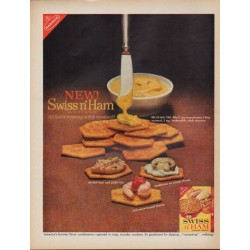 "1962 Nabisco Ad ""New! Swiss n' Ham"""