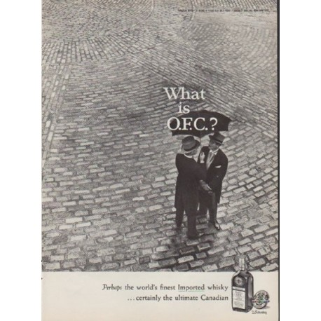 "1959 O.F.C. Ad ""What is O.F.C.?"""